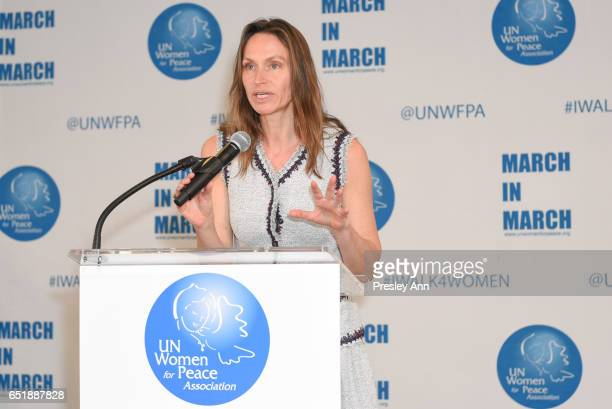 Anne De Carbuccia attends The United Nations Women for Peace Association's Annual Awards Luncheon on March 10 2017 in New York City