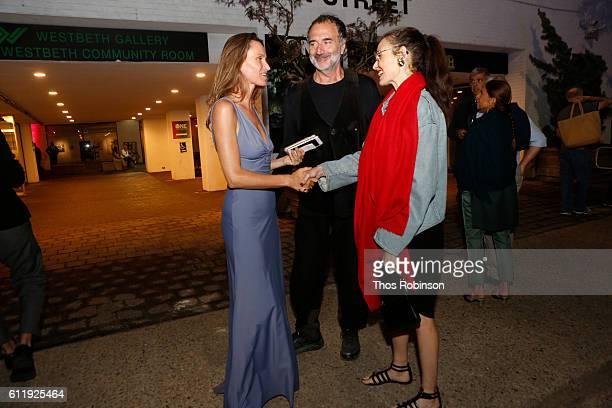 Anne de Carbuccia Fabrizio Ferri and Geraldina Ferri attend ONE One Planet One Future at Bank Street Theater on September 13 2016 in New York City...