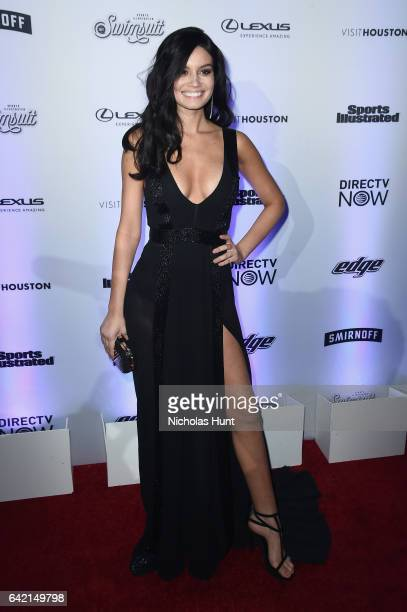 Anne de Paula attends Sports Illustrated Swimsuit 2017 NYC launch event at Center415 Event Space on February 16 2017 in New York City