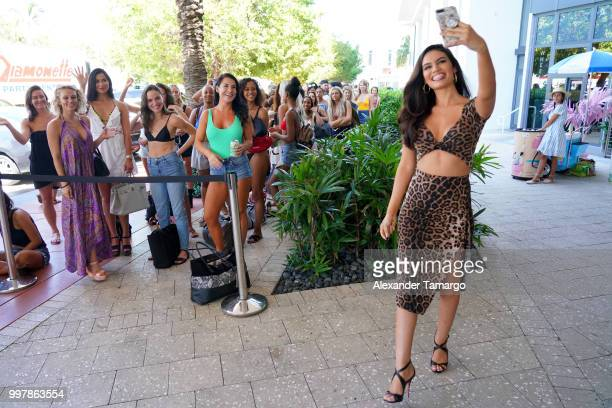 Anne De Paula attends the 2018 Sports Illustrated Swimsuit Casting Call at PARAISO during Miami Swim Week at The W Hotel South Beach on July 13 2018...