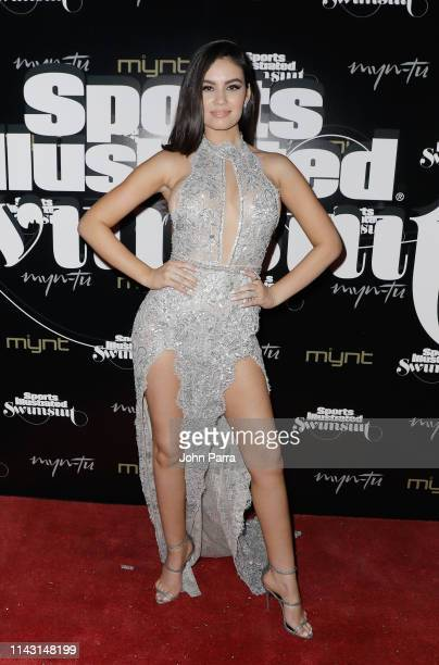 Anne de Paula attends the Sports Illustrated Swimsuit Celebrates 2019 Issue Launch at MynTu on May 11 2019 in Miami Florida