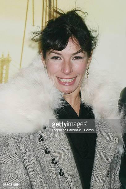 Anne De Petrini attends the premiere of 'I Am Legend' in Paris