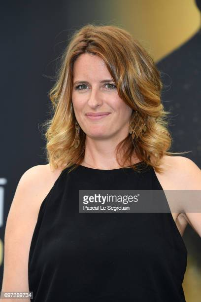Anne Decis from 'Plus belle la vie' attends a photocall during the 57th Monte Carlo TV Festival Day 3 on June 18 2017 in MonteCarlo Monaco