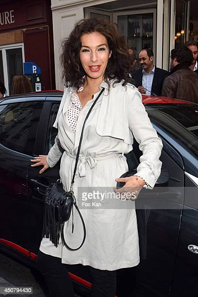 Anne Depetrini attend 'La Rue Aygo En Mode Fun' Party Hosted By Toyota At 14 Rue Muller on June 17 2014 in Paris France s