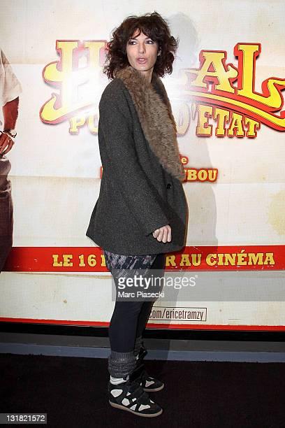 Anne Depetrini attends the 'Halal Police d'etat' premiere at UGC Cine Cite Bercy on February 15 2011 in Paris France