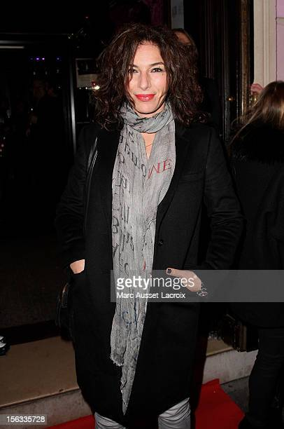 Anne Depetrini poses during the 'L'Aventure' 9th Anniversary Celebration at L'Aventure on November 13 2012 in Paris France