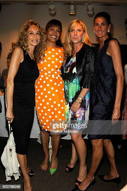 Anne Dexter Jones Faye Wattleton Margo McNabb Nederlander and Somers Farkas attend 'PARTY FAVORS' by Nicole Sexton Book Release Party at Michael's on...