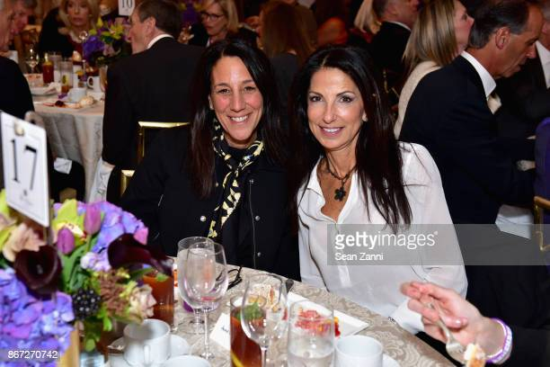 Anne Diamond and Cindy Tell attend Hope on the Horizon Alzheimer's Drug Discovery Foundation Eighth Annual Fall Symposium Luncheon on October 27 2017...