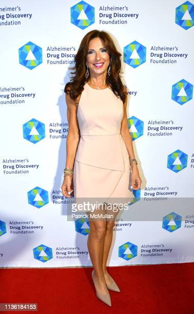 Anne Diamond attends Alzheimer's Drug Discovery Foundation's Second Memories Matter Event at Pier 60 at Chelsea Piers on April 9 2019 in New York City