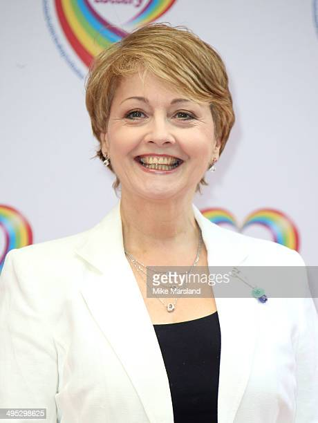 Anne Diamond attends the Health Lottery tea party at The Savoy Hotel on June 2 2014 in London England