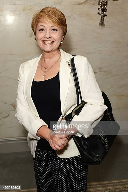 Anne Diamond attends the Health Lottery Tea Party at The Savoy on June 2 2014 in London England