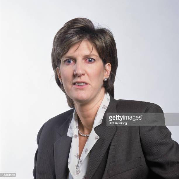 Anne Donovan head coach of the Seattle Storm poses for a portrait on April 30 2003 in Seattle Washington NOTE TO USER User expressly acknowledges and...