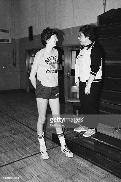 Anne Donovan is the star female basketball player of Paramus Catholic High School As a senior with a height of six feet eight inches she is heavily...