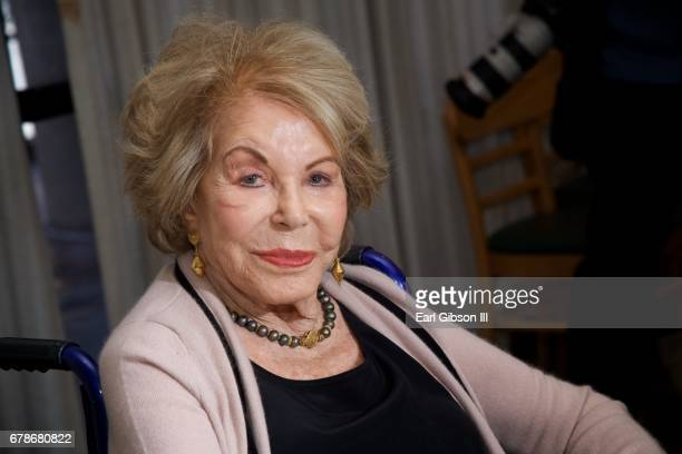 Anne Douglas attends the 25th Anniversary Of The Anne Douglas Center at Los Angeles Mission on May 4 2017 in Los Angeles California
