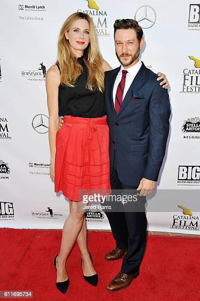 Anne Dudek and Michael Graziadei attends the 2016 Catalina Film Festival on September 30 2016 in Catalina Island California