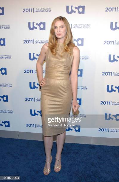 Anne Dudek attends the 2011 USA Upfront at The Tent at Lincoln Center on May 2 2011 in New York City