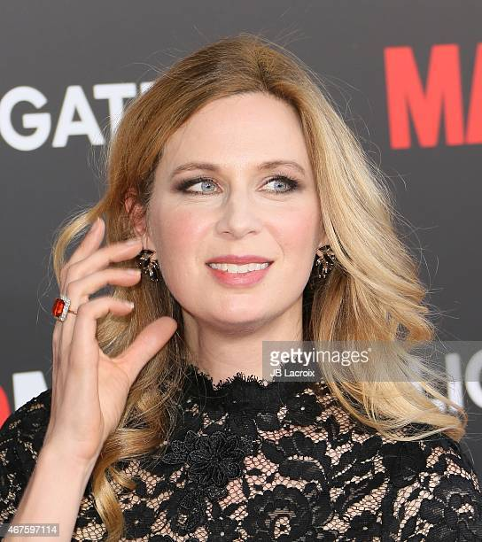 Anne Dudek attends the AMC celebration of the final 7 episodes of 'Mad Men' with the Black Red Ball at the Dorothy Chandler Pavilion on March 25 2015...