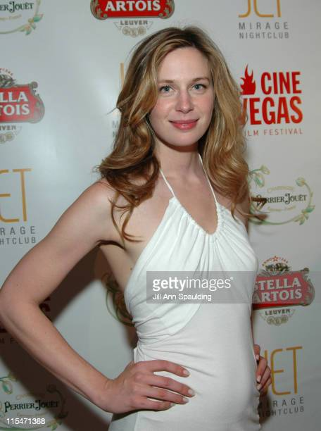 Anne Dudek during CineVegas Evening Party at Jet Nightclub at Jet Mirage Nightclub in Las Vegas Nevada United States