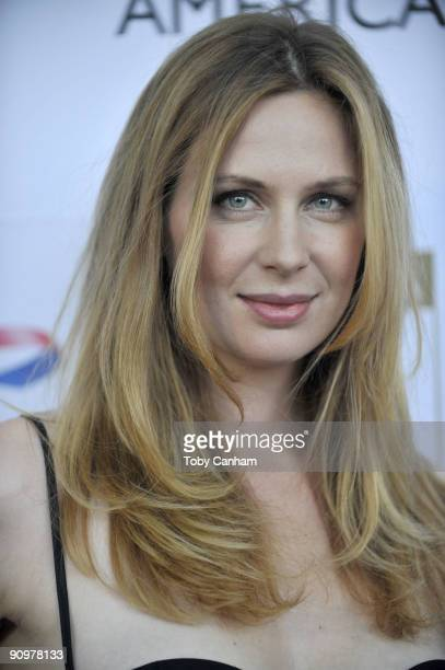 Anne Dudek poses for a picture at the BAFTA LA's 2009 Primetime Emmy Awards TV tea party held at the Intercontinental Hotel on September 19 2009 in...