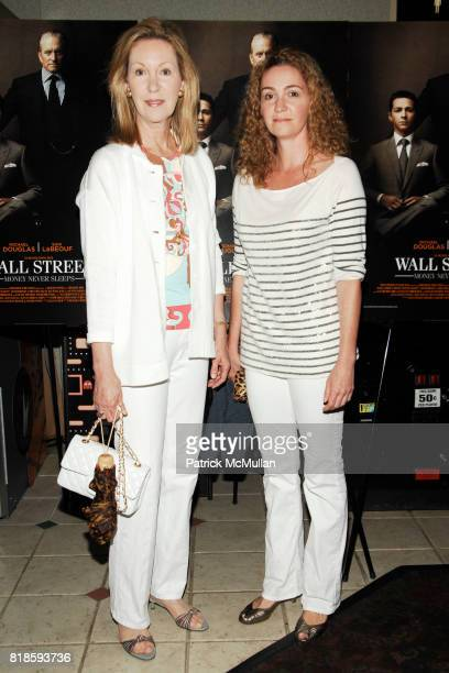 Anne Eisenhower and Adriana Echavarria attend Screening for WALL STREET Money Never Sleeps at UA Theaters on August 22 2010 in South Hampton NY