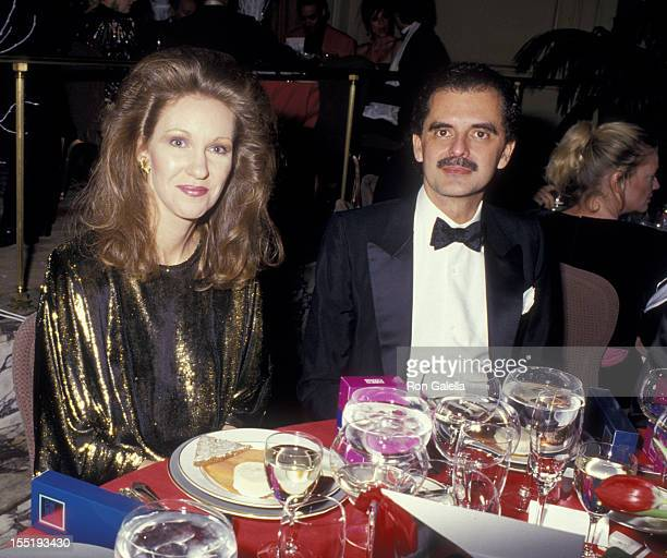 Anne Eisenhower and date attend Best Awards Dinner on December 19 1986 at the Pierre Hotel in New York City