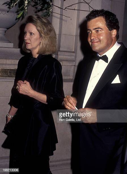 Anne Eisenhower and Wolfgang Flottl attend Metropolitan Museum of Art Costume Institute Benefit Gala on December 5 1994 at the Metropolitan Museum of...