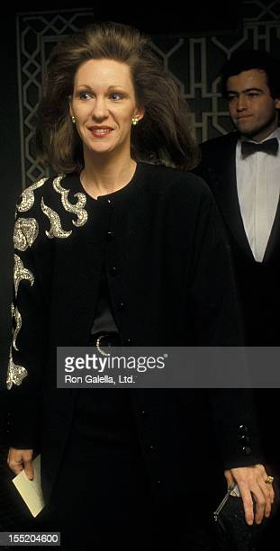 Anne Eisenhower attends 36th Annual April In Paris Ball on October 23 1987 at the Waldorf Hotel in New York City