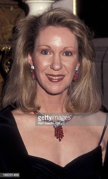 Anne Eisenhower attends Casita Maria Fiesta Honoring Geraldo Rivera and Laura Esquivel on October 25 1995 at the Plaza Hotel in New York City