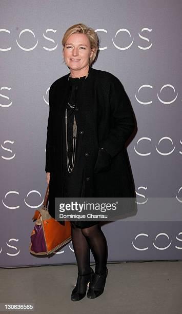 Anne Elisabeth Lemoine attends COS Shop Opening Party at Cos Rue Montmartre on October 27 2011 in Paris France