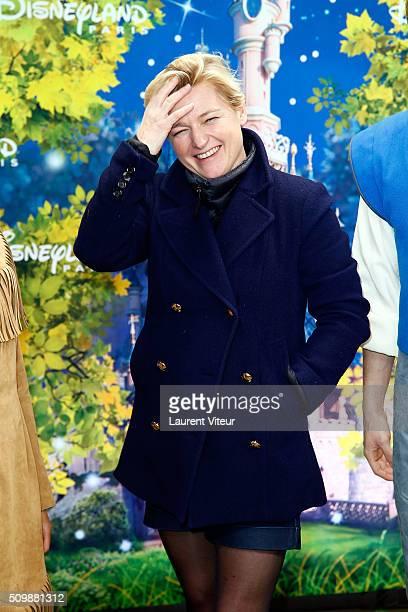 Anne Elisabeth Lemoine attends 'La Foret de L'Enchantement' Musical Show Premiere at Disneyland Paris on February 12 2016 in Paris France
