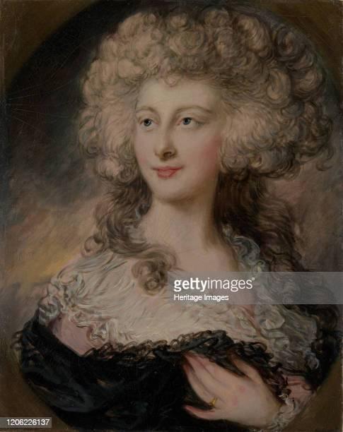 Anne Elizabeth Cholmley , Later Lady Mulgrave. Artist Gainsborough Dupont.