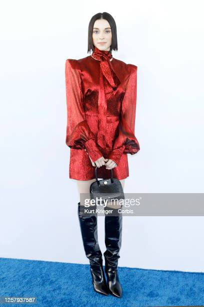 Anne Erin Clark aka Annie Erin Clark aka St. Vincent arrives at the 2020 Film Independent Spirit Awards on February 08, 2020 in Santa Monica,...