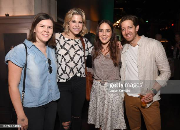 Anne Fogerty Libby Oellerich Cassidy Cole and Chris Cole attend the Nashville Filmmakers Guild ReLaunch Party at Analog at Hutton Hotel on August 29...