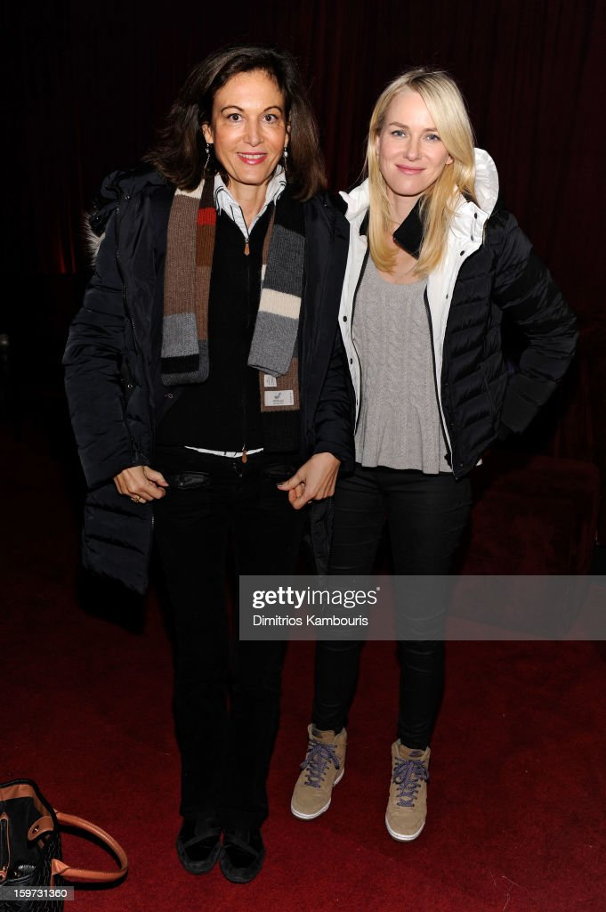 Anne Fontaine and Naomi Watts attend Day 2 of Village At The Lift 2013 on January 19, 2013 in Park City, Utah.
