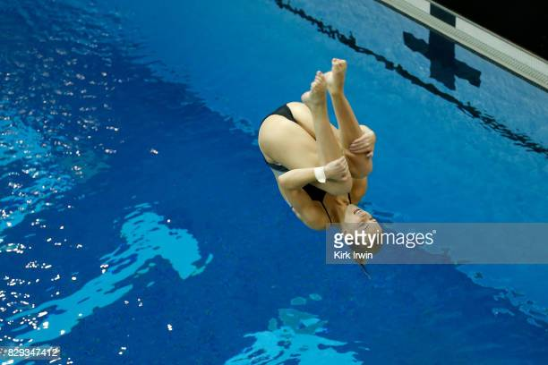 Anne Fowler of the Alexandria Dive Club competes during the Senior Women's 3m Springboard Semifinal during the 2017 USA Diving Summer National...