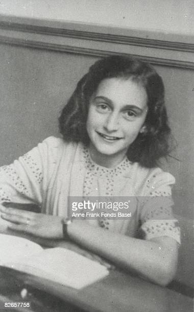 Anne Frank at the Jewish Lyceum in Amsterdam December 1941