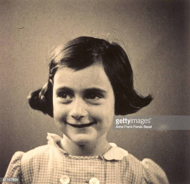 Anne Frank in 1935, taken from her photo album.