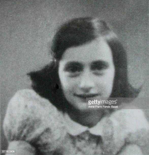 Anne Frank in May 1939 taken from her photo album