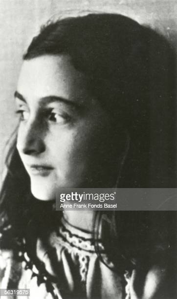 Anne Frank who lived in concealed rooms during the Nazi occupation of Amsterdam circa 1942