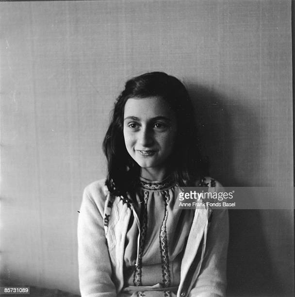 Anne Frank who lived in concealed rooms during the Nazi occupation of Amsterdam circa 1941