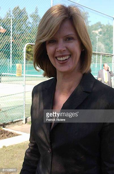 Anne Fulwood at The Humpty Dumpty Foundation's official launch of their major annual fundraising event at The White City Tennis Centre in Sydney