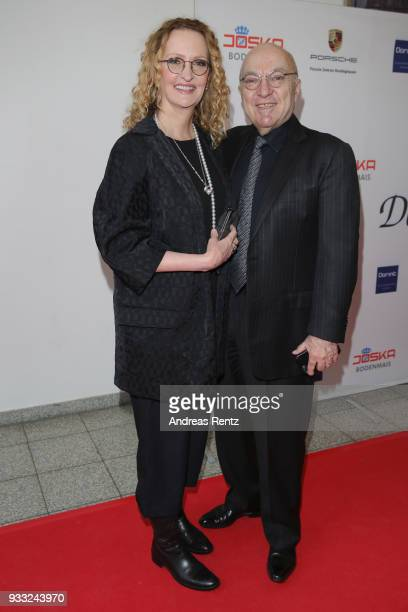 Anne Geddes and her husband Kel Geddes attend the Steiger Award at Zeche Hansemann on March 17 2018 in Dortmund Germany