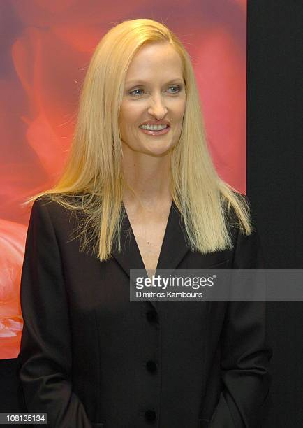 Anne Geddes during Celine Dion and Anne Geddes Collaborate on a Major New Work Miracle at Sony in New York City New York United States