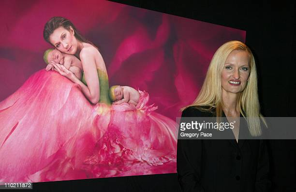 Anne Geddes during Celine Dion And Renowned Photographer Anne Geddes Celebrate The Release Of Their Unprecedented CD/Book Collabaration Miracle at...