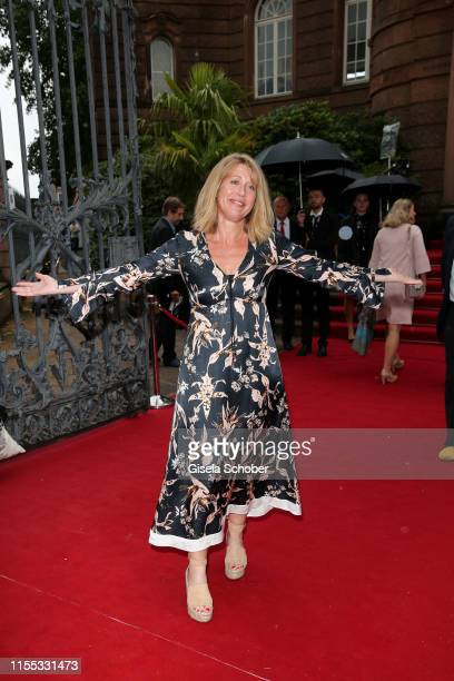Anne Gesthuysen during the opening of the Nibelungen Theatre Festival at St Peter's Cathedral on July 12, 2019 in Worms, Germany. On the opening day...