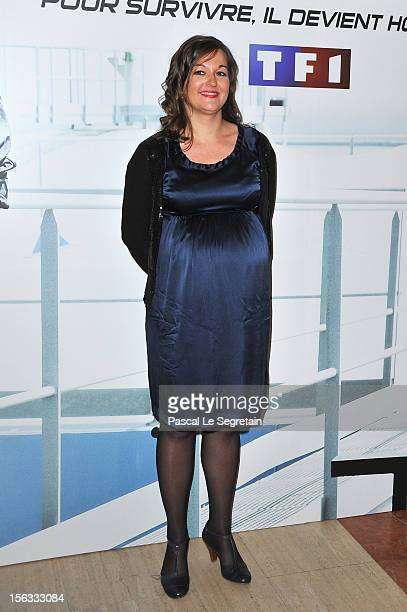 Anne Girouard attends 'No Limit' a Europacorp And TF1 Series Launch at UGC George V on November 13 2012 in Paris France
