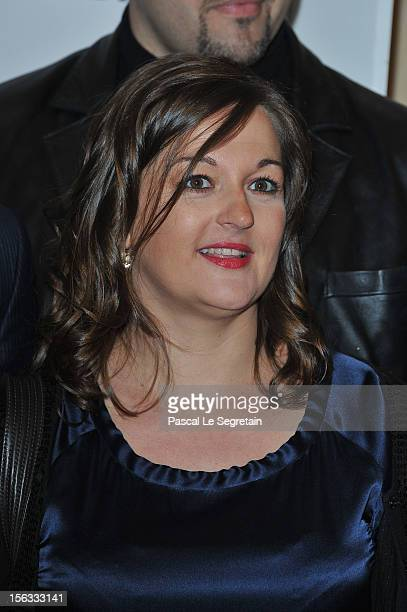 Anne Girouard attends 'No Limit', a Europacorp And TF1 Series Launch at UGC George V on November 13, 2012 in Paris, France.