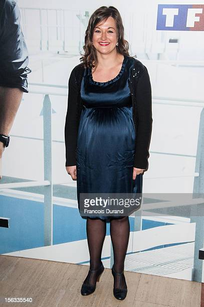 Anne Girouard attends the premiere of 'No Limit', a Europacorp And TF1 Series Launch at UGC George V on November 13, 2012 in Paris, France.