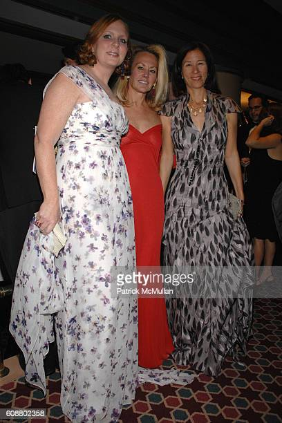 Anne Grauso Muffie Potter Aston and Jill Roosevelt attend AMERICAN BALLET THEATRE 2007 Fall Gala at City Center Mandarin Oriental Hotel on October 23...