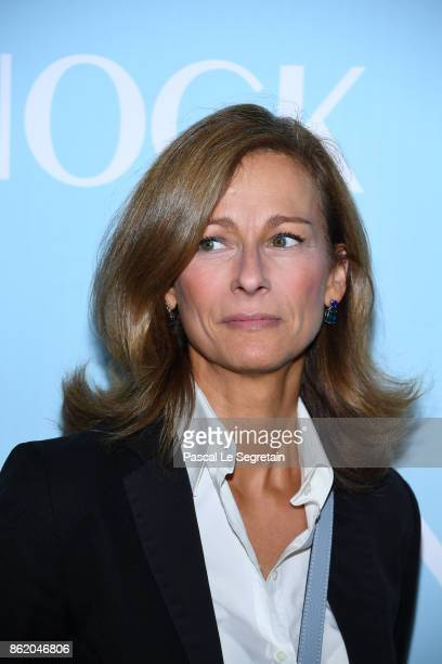 Anne Gravoin attends 'Knock' Premiere at Cinema UGC Normandie on October 16 2017 in Paris France